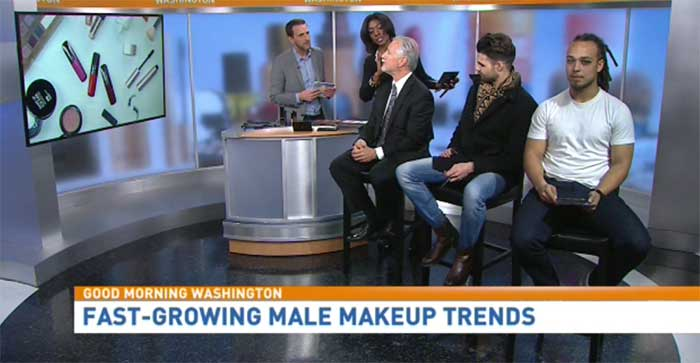 Fast-growing manly makeup trends